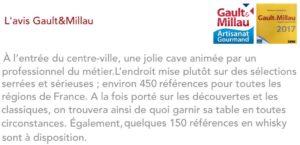 Ce que dit Gault & Millau