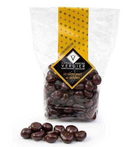 CHOCOLATS RAISINS DORES DE VERDIER – SACHET 100g