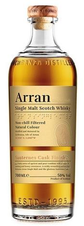 ARRAN – THE SAUTERNES CASKS FINISH